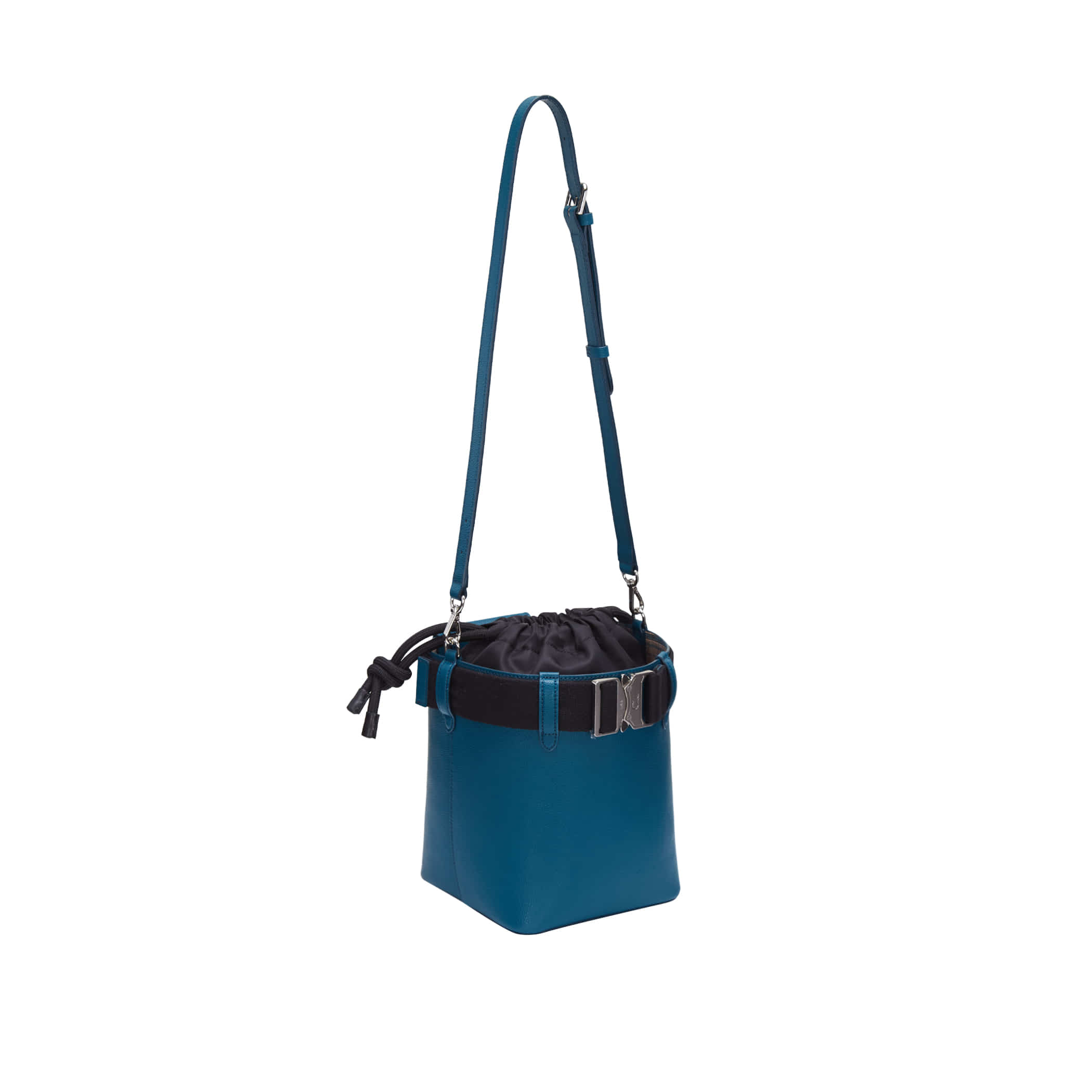 Clu_LETCHU BUCKLE-UP BUCKET BAG IN GREEN