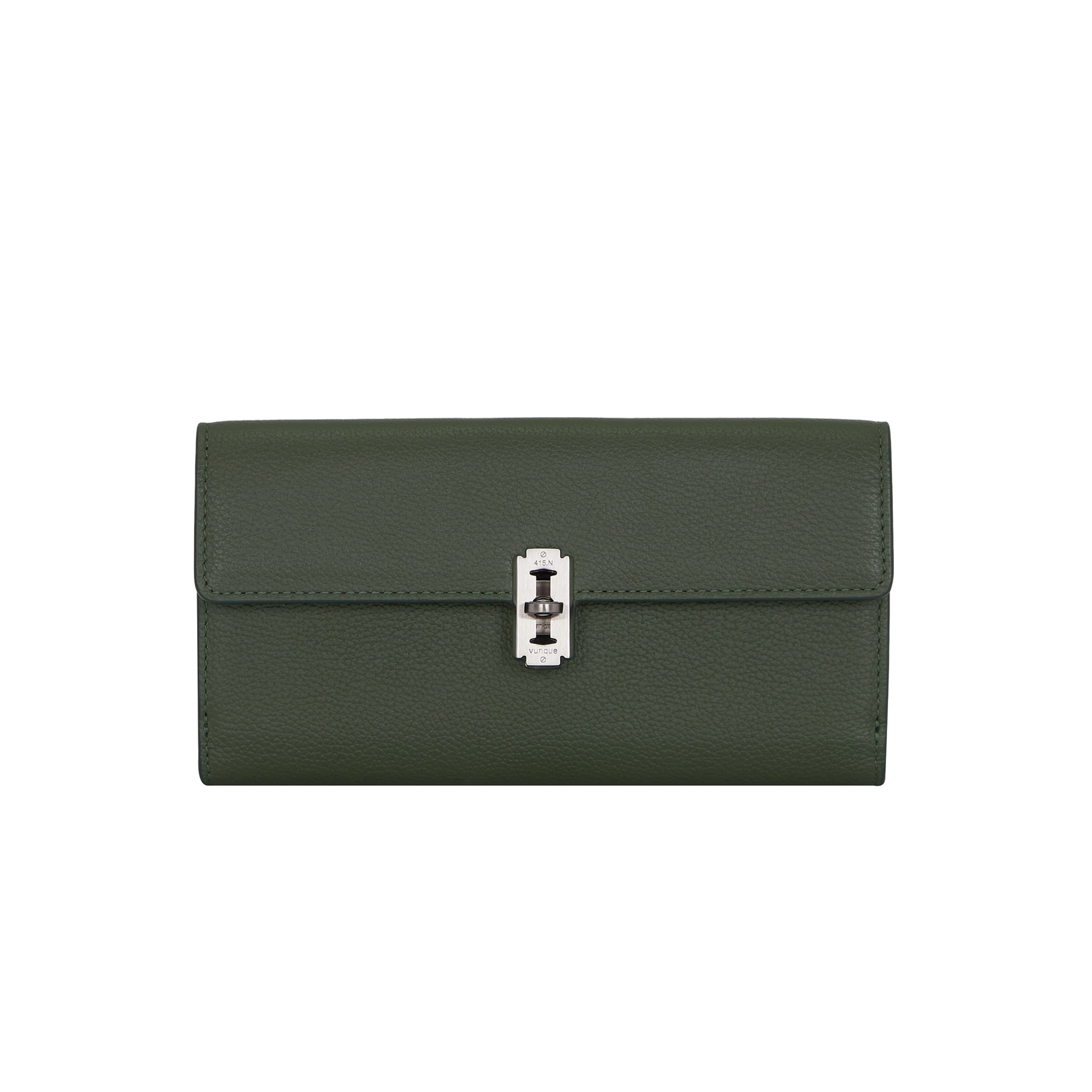 Perfec folded long wallet (퍼펙 2단 장지갑) Khaki