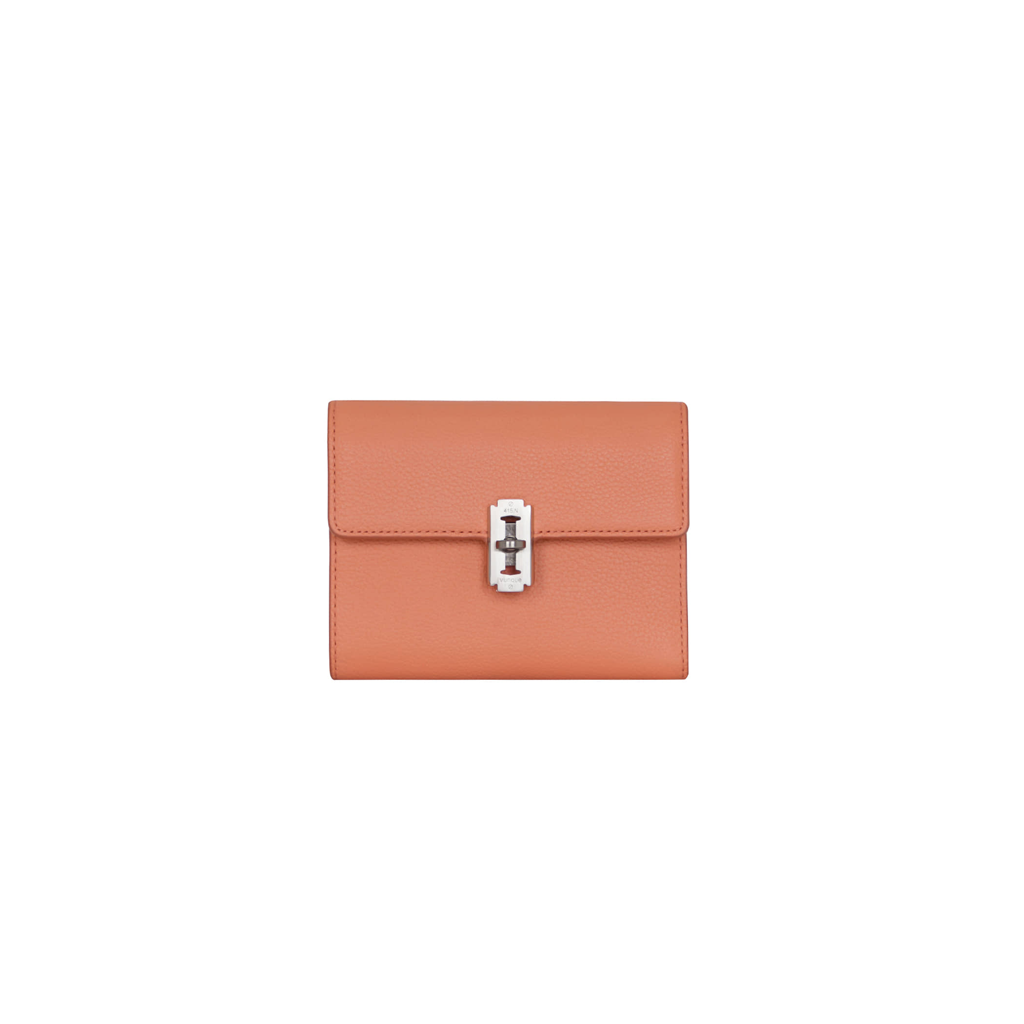 Perfec folded middle wallet (퍼펙 3단 중지갑) Coral