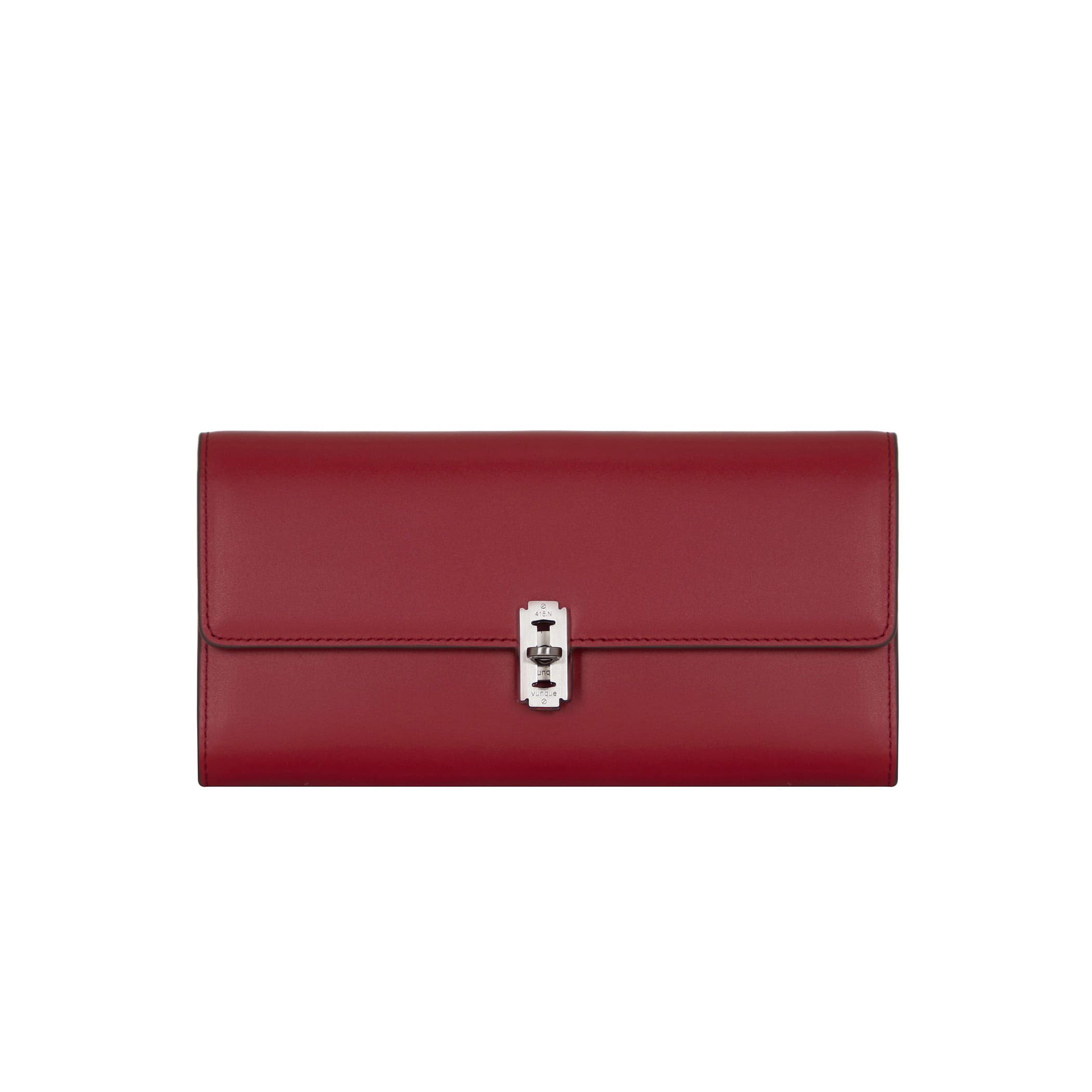 Occam Droit long wallet (오캄 디롯트 장지갑) Deep red