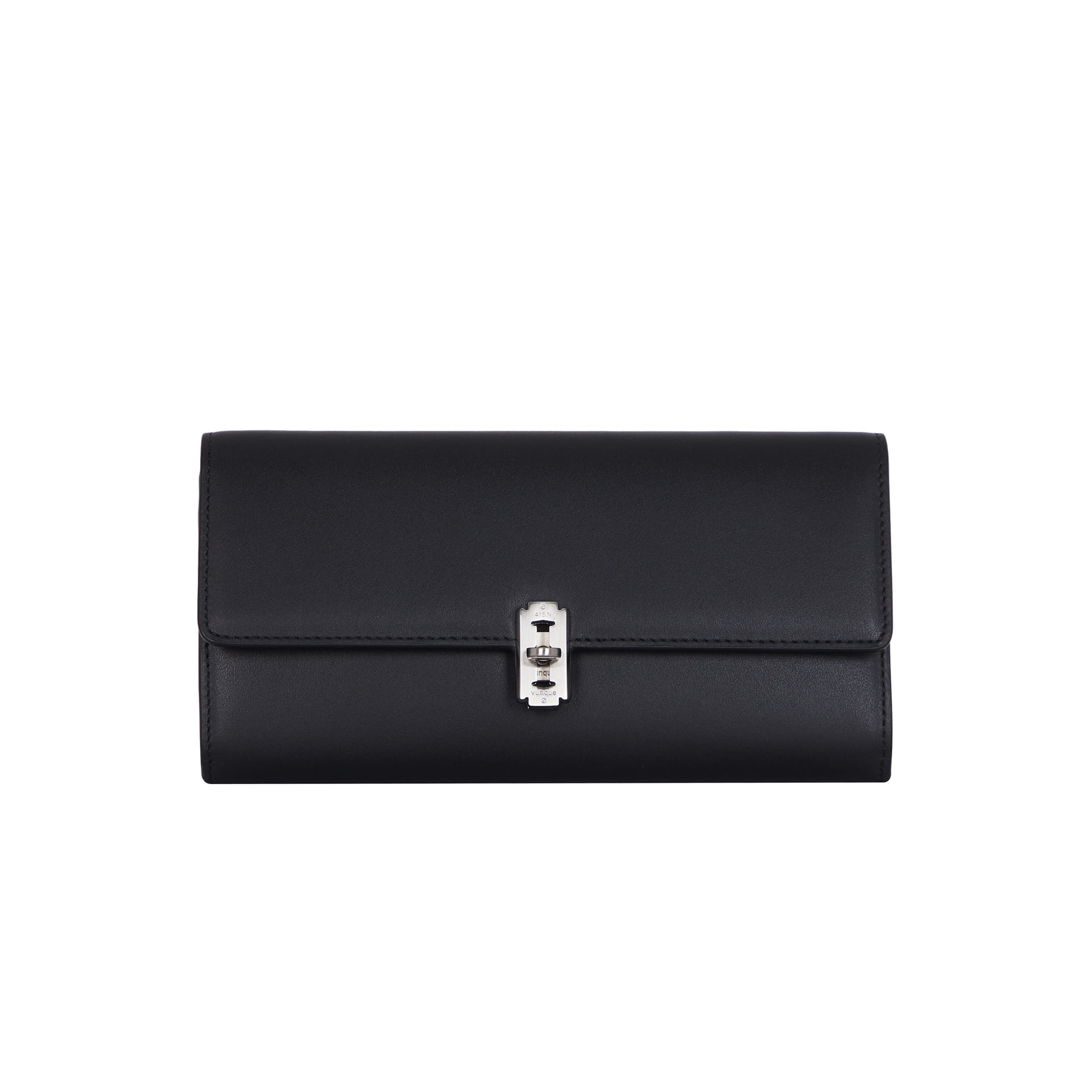 Occam Droit long wallet (오캄 디롯트 장지갑) Black