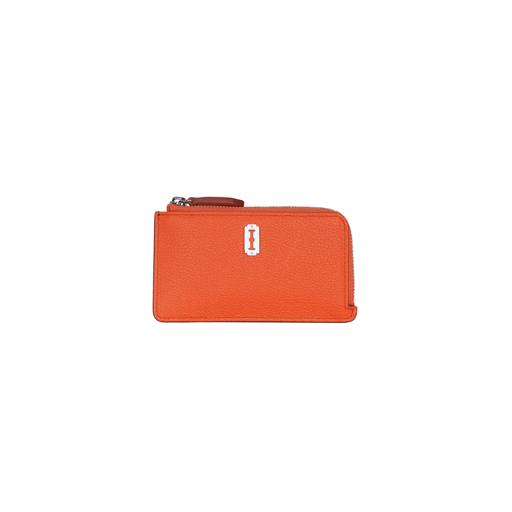 Magpie Zipper Card Wallet (맥파이 지퍼 카드지갑) Neon orange