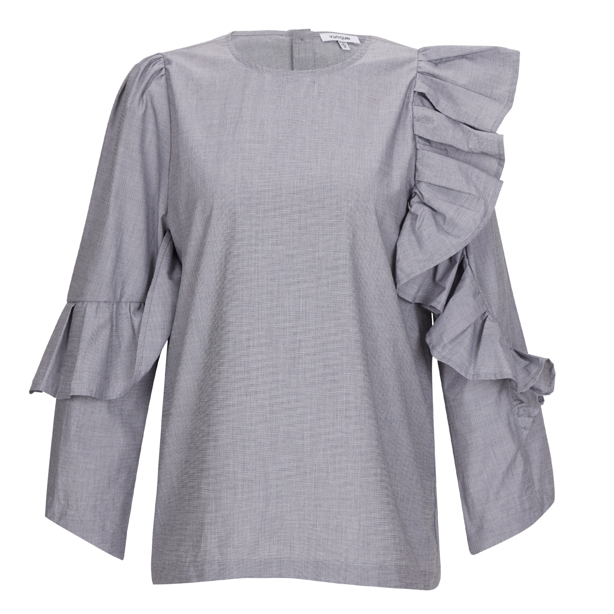 Humming Wave Shirt (허밍 웨이브 셔츠) Grey